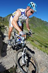 Mountainbiken im Wallis