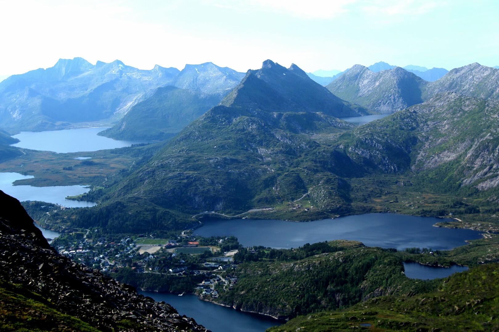 Mountains around Svolvaer