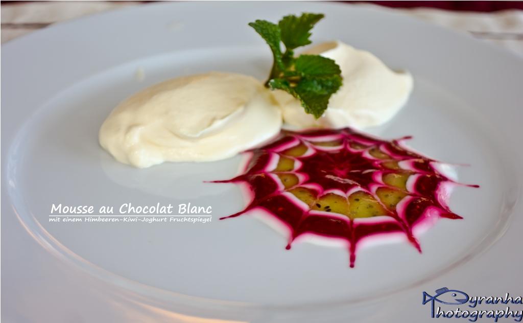 Mousse Au Chocolat Blanc Foto Bild Stillleben Essen Trinken