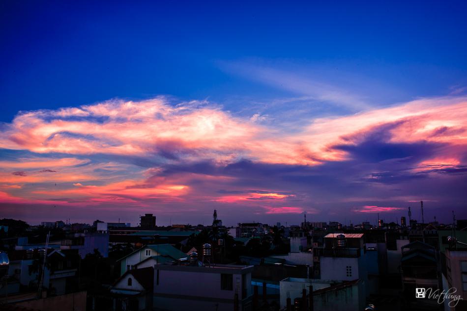 Movement before sunset