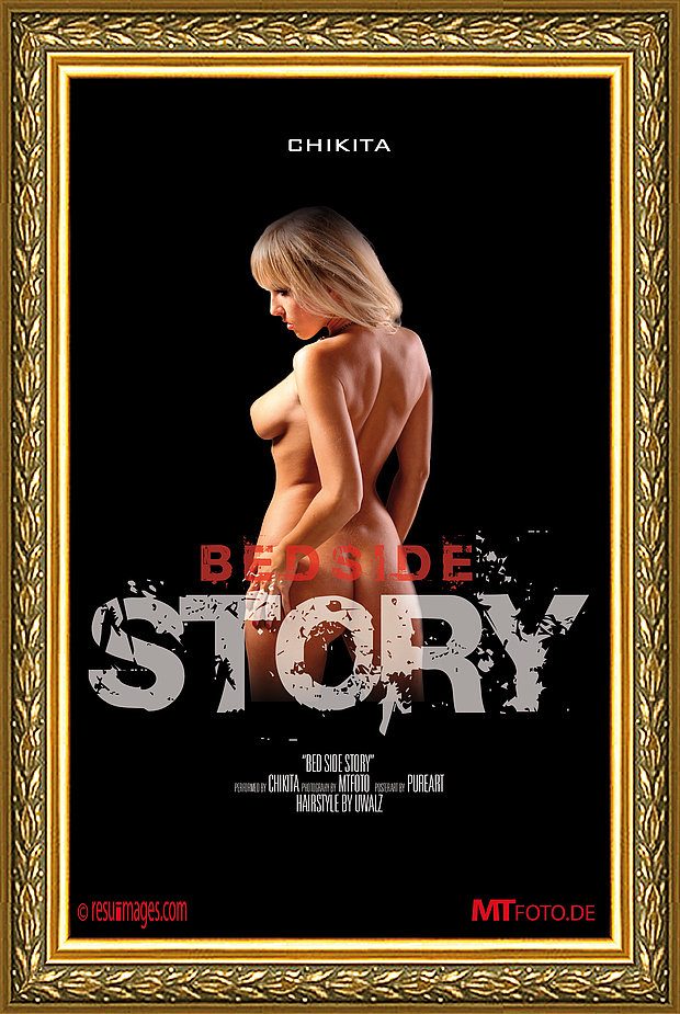 MOVIE POSTER BEDSIDE STORY mit Chi +2Fotos