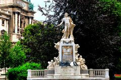 Mozart et le pigeon