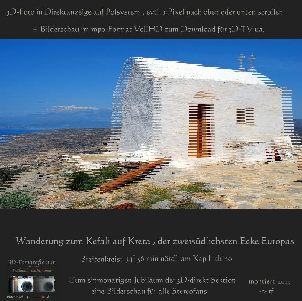 MPO 3D-Bilderschau VollHD : Kreta
