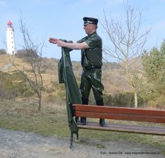 Mr. Fetrishman Robert Ott  am Leuchtturm