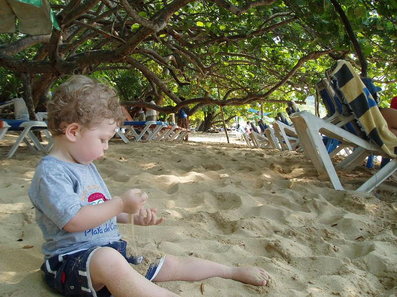 Mr W on Sosua beach