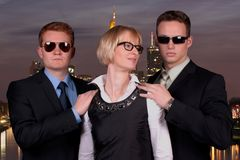 Mrs. Leuschner and the Bodyguards