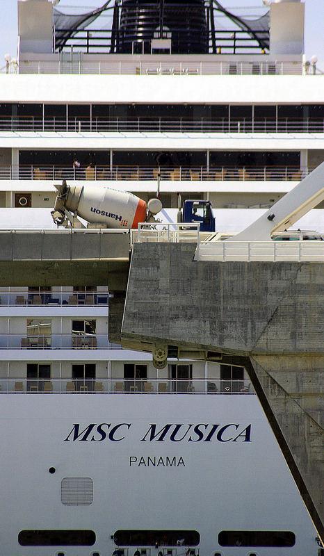 MSC Musica Heckansicht