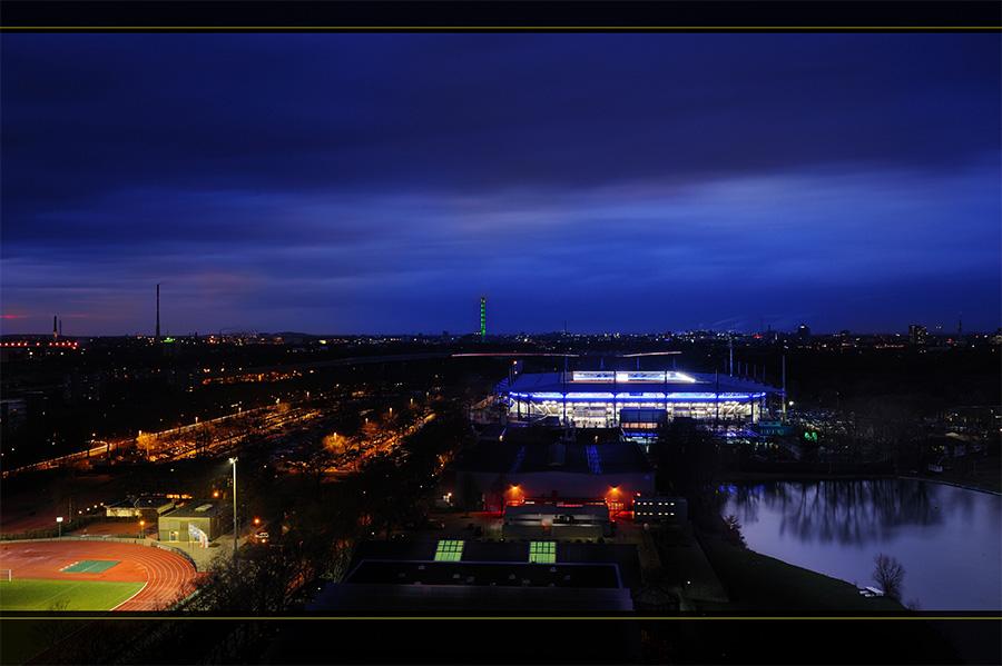 MSV-Arena / Wedau Sportpark Duisburg bei Nacht