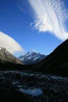 Mt COOK au réveil