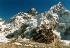 Mt. Everest im Winter