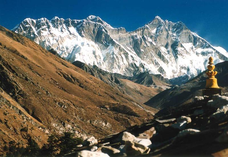 Mt. Everest und Lhotse