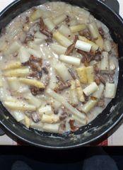 (MT) Gut,dass meine Frau immer reichlich kocht. :)