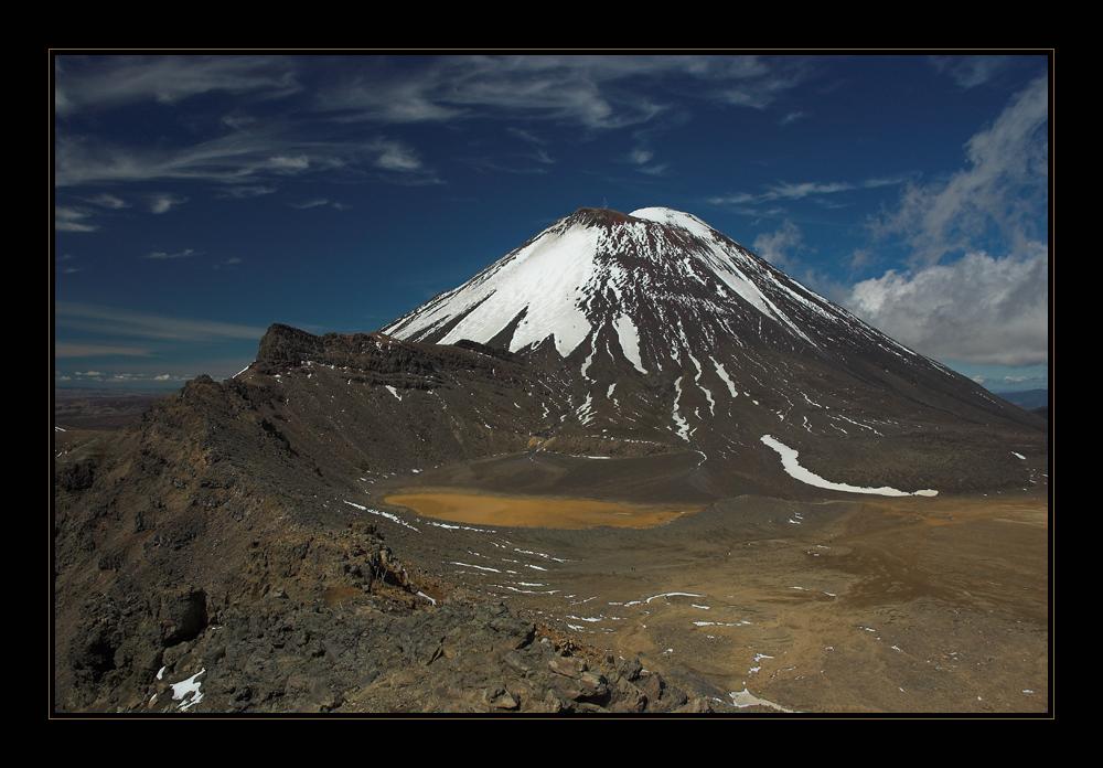Mt. Ngauruhoe - Tongariro Crossing