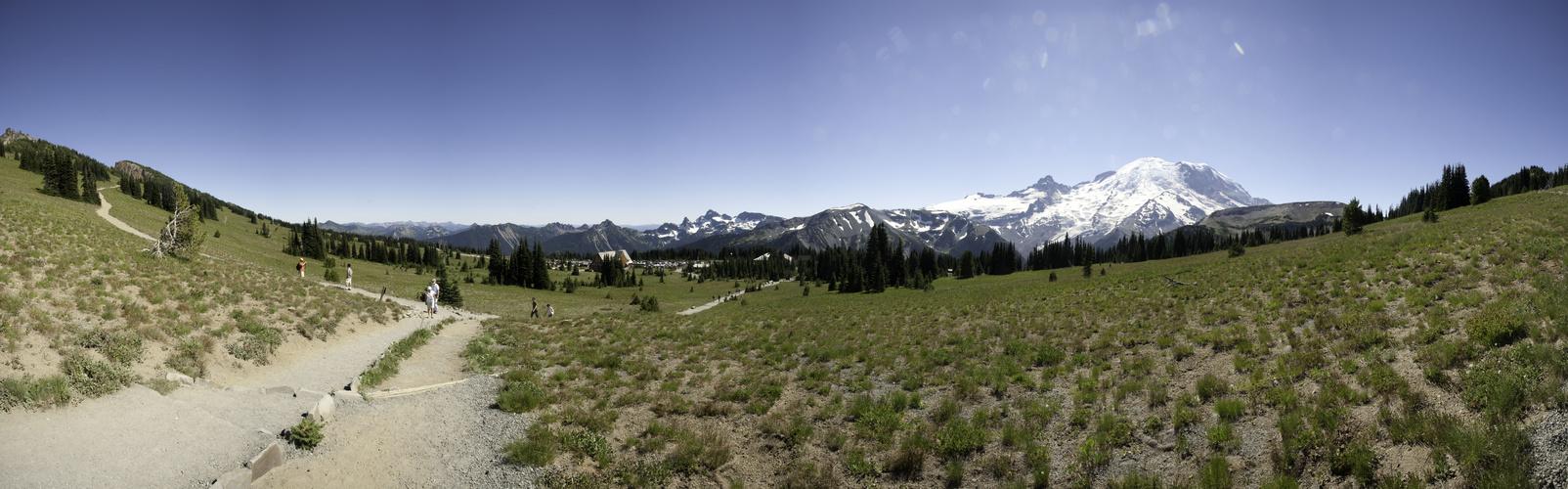 Mt. Rainier - Sunrise Visitor Center