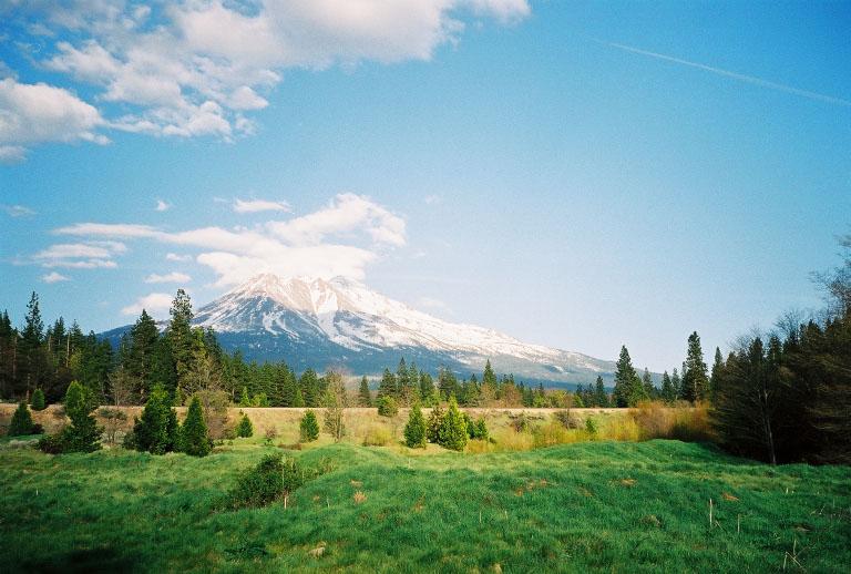 Mt Shasta - das einzige mal nicht (kaum) in Wolken