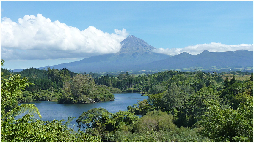 Mt. Taranaki - Neuseeland