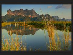 Mt. Zwekabin Spiegelung