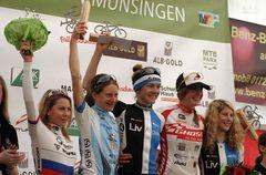 """MTB - CUP in Münsingen* Siegerehrung Damen-Elite"""