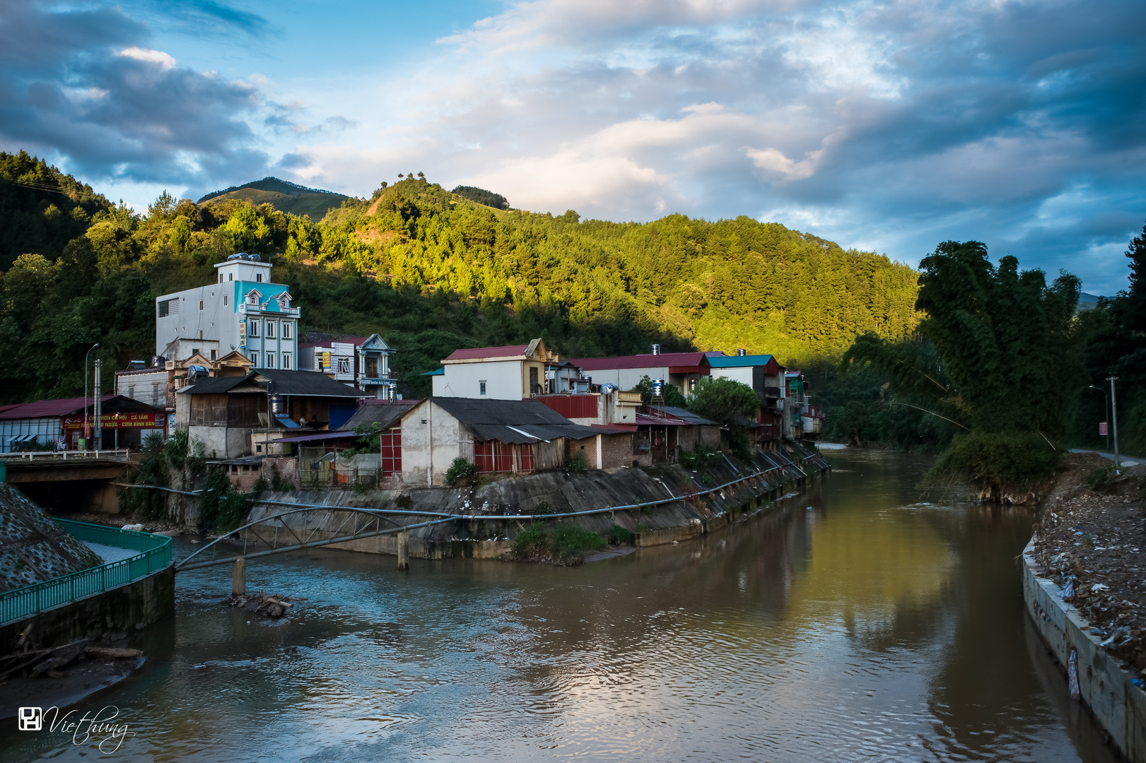 Mu Cang Chai town