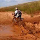 ...muddy...