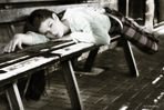 müde...