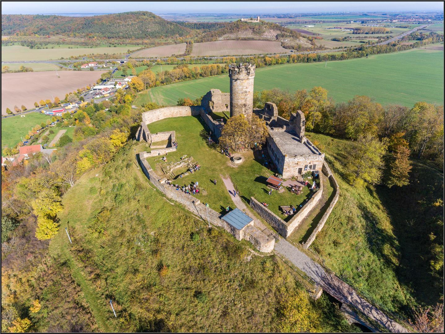 Mühlburg und Burg Gleichen