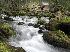 Mühle am Gollinger Wasserfall