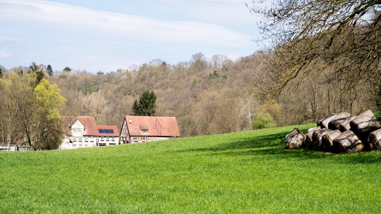 Mühle am Remstalradweg