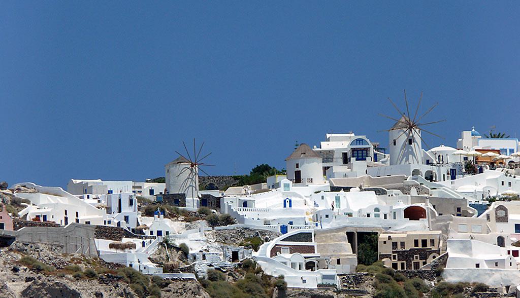 Mühlen auf Mykonos