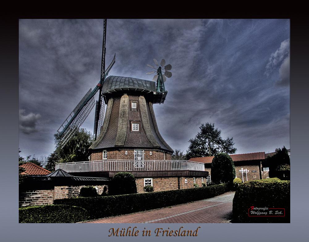 """Mühlen in Friesland / """"Sillensteder Mühle"""""""