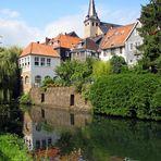 Mühlengraben und Parlament in Kettwig