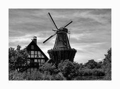"""Mühlenmuseum - Gifhorn """" Blick auf die Mühle Sanssouci """""""