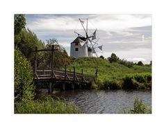 """Mühlenmuseum - Gifhorn """" Blick auf die Portugiesische Windmühle Algarve """""""