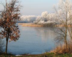 Mühlensee bei Frost