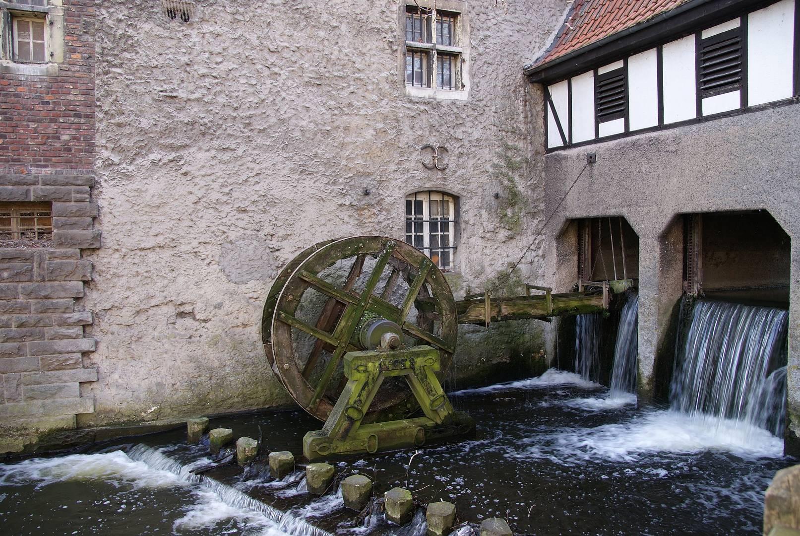 Mühlenwehr in Lüdinghausen