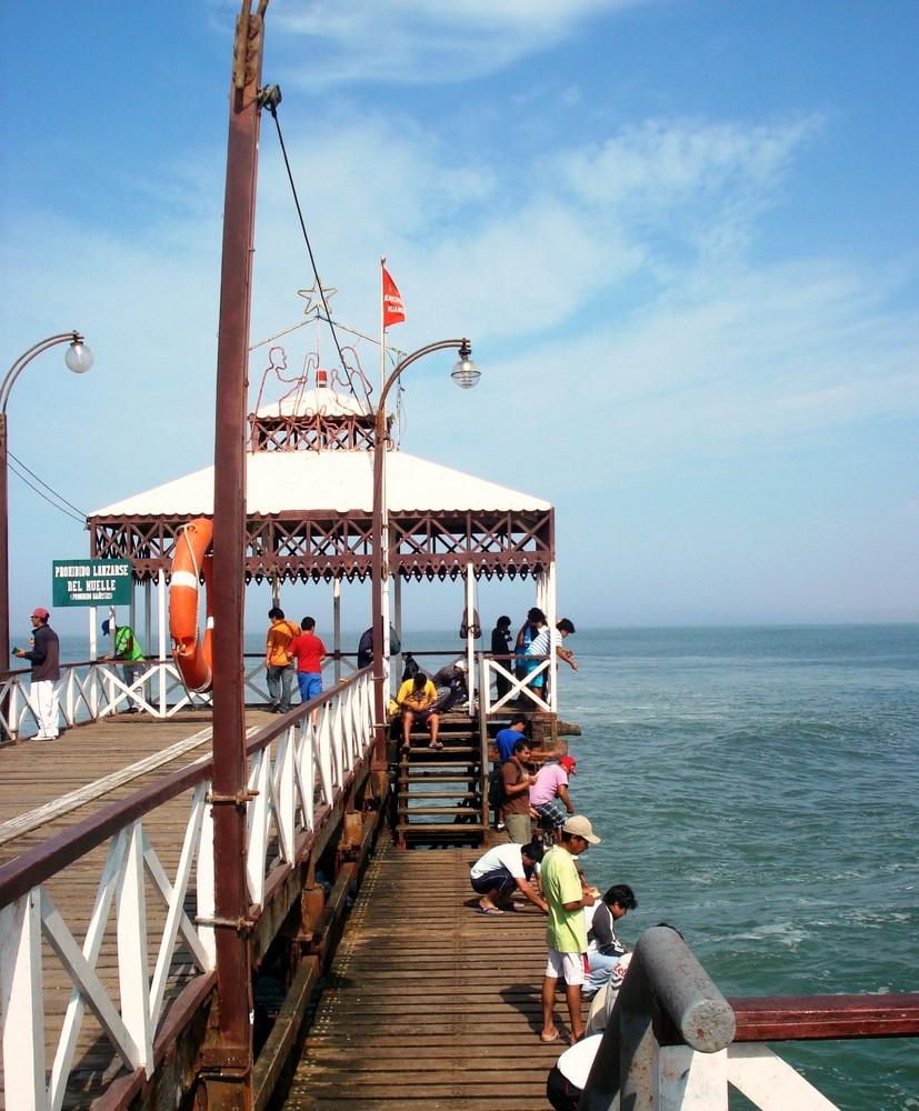 Muelle de Huanchaco- LA LIBERTAD - Perú