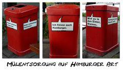 Müllentsorgung auf Hamburger Art