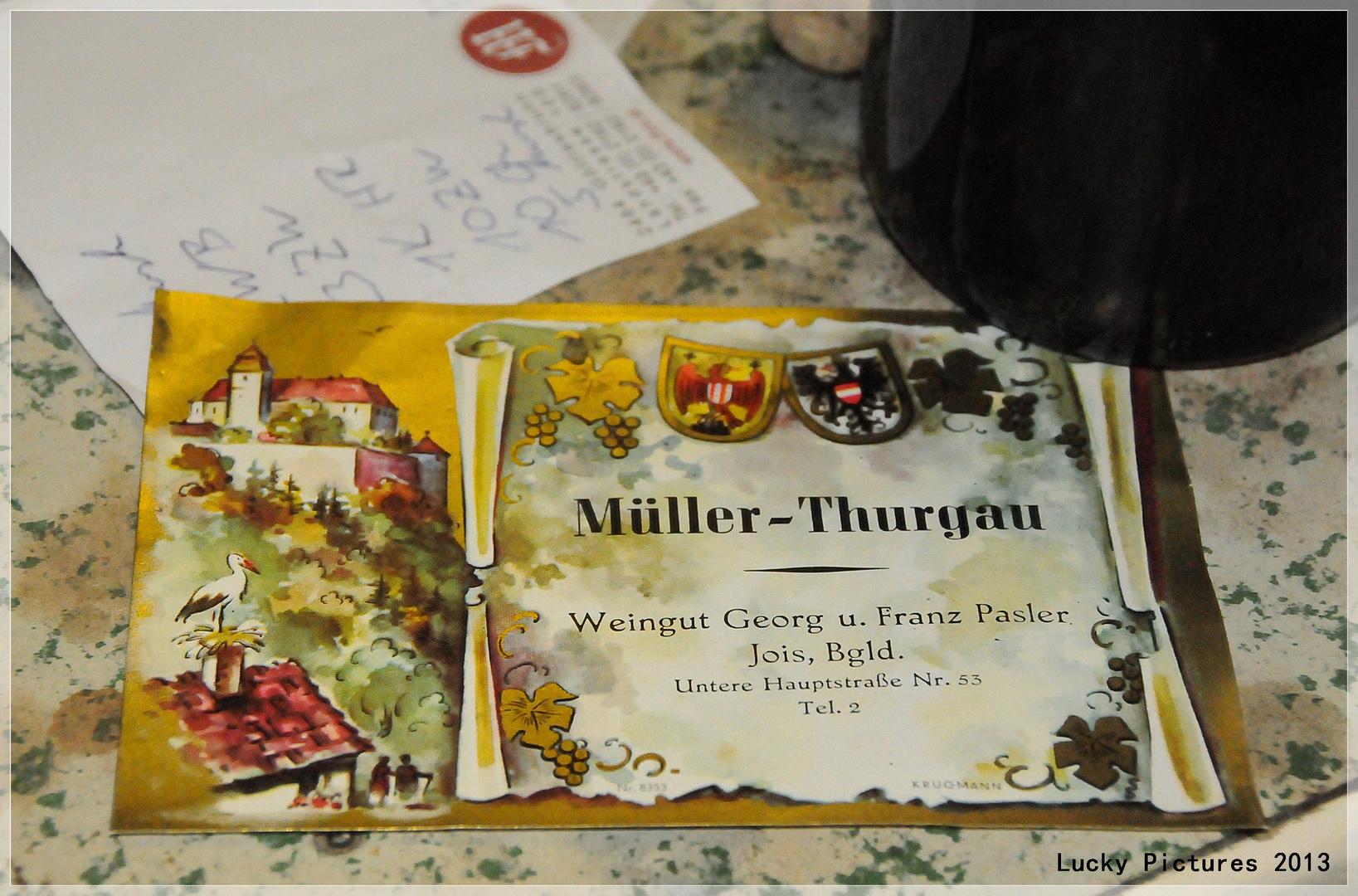 Müller-Thurgau - Die Jois Serie