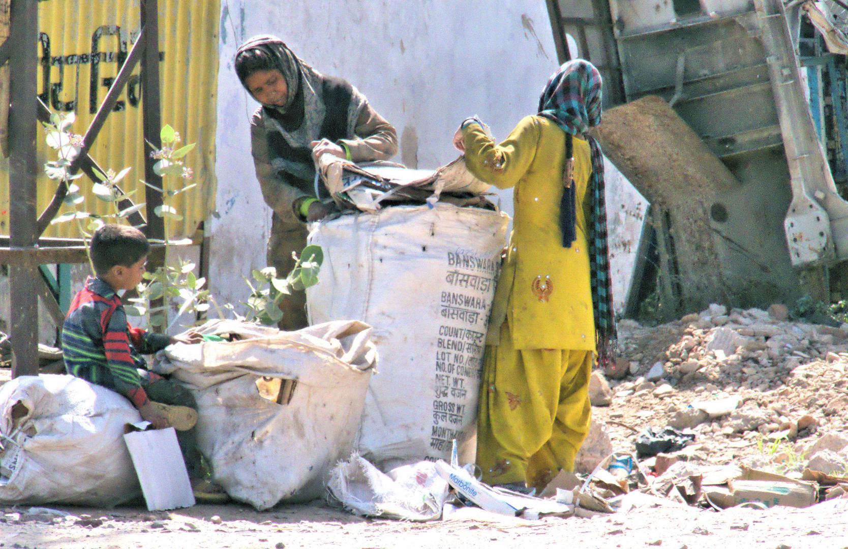Müllsammlerinnen