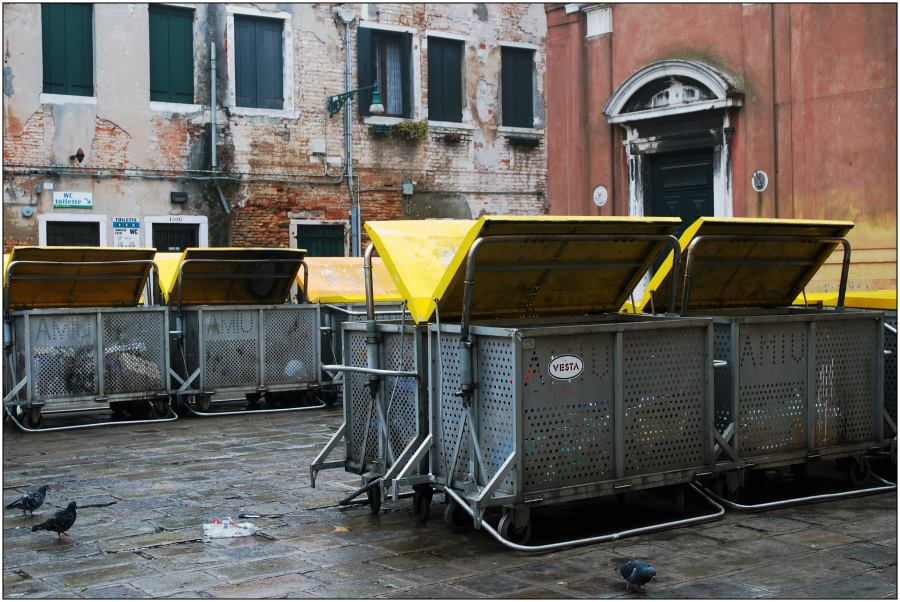 Mülltrennung auf Venezianisch