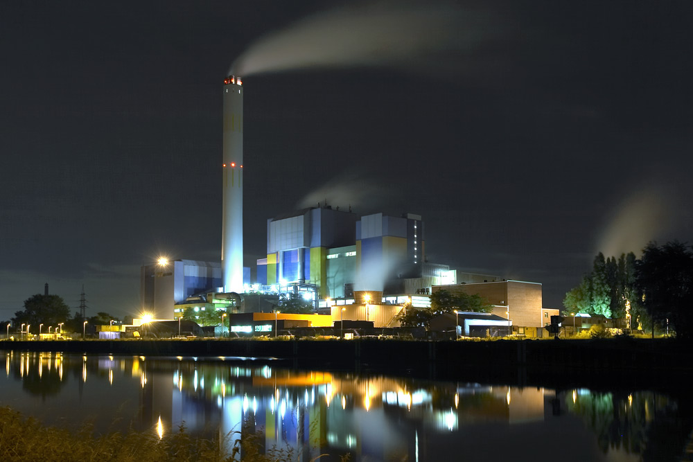 Müllverbrennung in Oberhausen