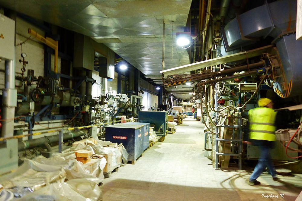 Müllverbrennungsanlage Flingern - Reparaturbereich und Lager
