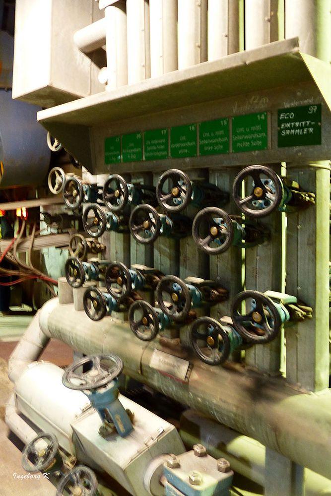 Müllverbrennungsanlage Flingern - Steuerungsanlage für die Funktionen der Anlage