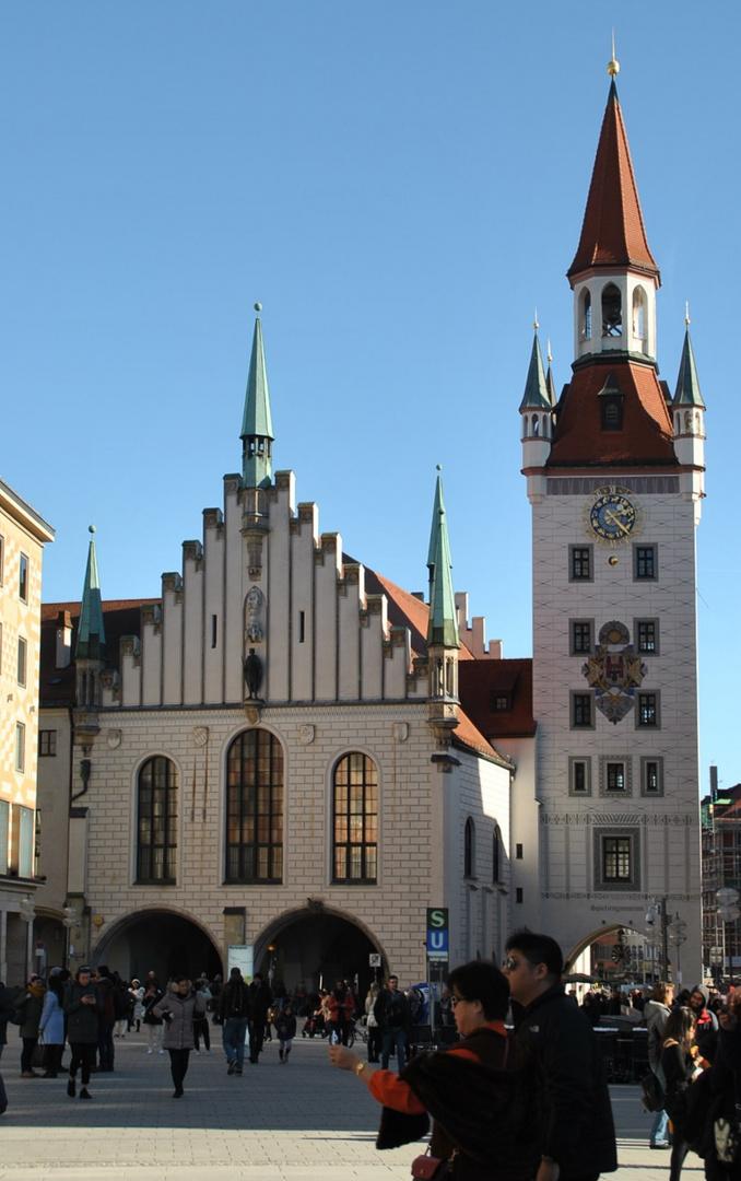 Munchen Altes Rathaus Und Spielzeugmuseum Foto Bild World Munchen Stadt Bilder Auf Fotocommunity