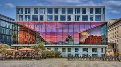 MÜNCHEN  - Bayerische Staatsoper - Gebäude am Marstallplatz -