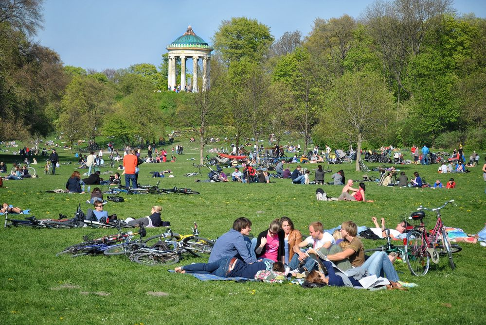 München - Englischer Garten Foto & Bild   urlaub, fotos