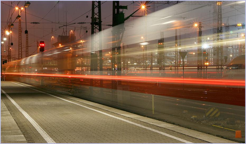 München Hbf, 18:20......