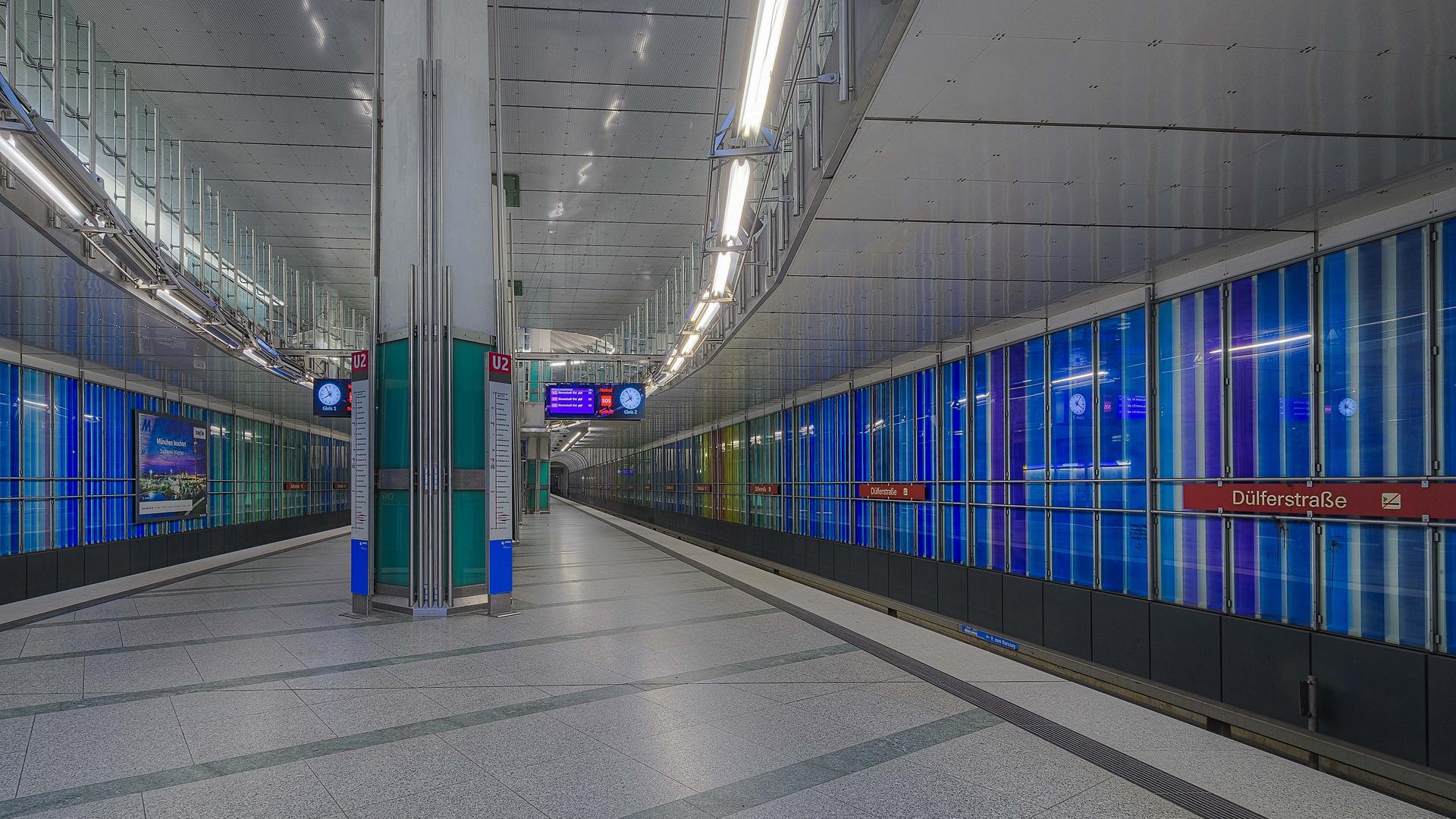 München, Linie U2, Station 'Dülferstraße'