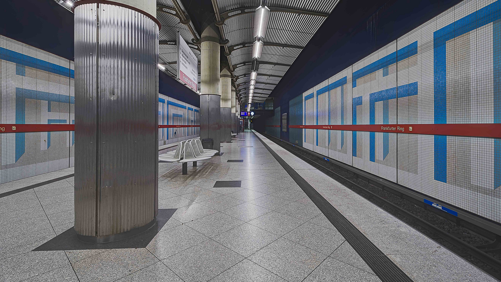 München, Linie U2, Station 'Frankfurter Ring'