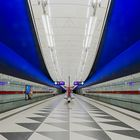 München, Linie U2, Station 'Hasenbergl'